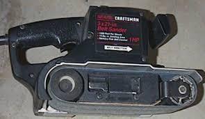craftsman 3x21 belt sander. craftsman belt sander 3x21 s