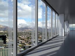 office glass windows. Floor-to-Ceiling Glass Office Windows