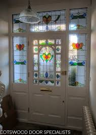 decorative edwardian front door with