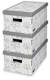 Decorative Storage Boxes Uk 60PC LARGE DECORATIVE STORAGE BOXES BEDROOM OFFICE WARDROBE 3