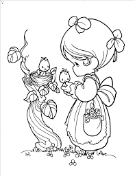 Small Picture Precious Moments Color Pages Coloring pages Pinterest