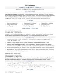Resume Templates Sales Rare Cv Template Word Manager Summary