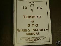 1966 pontiac gto tempest lemans wiring manual 7 99 picclick 1966 pontiac gto tempest lemans wiring manual