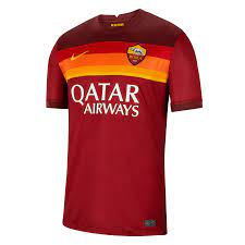 Nike AS Roma Herren Heim Trikot 2020/21 rot/gold - Fussball Shop