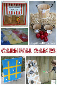 25+ Simple Carnival Games for Kids – Frugal Fun For Boys and Girls
