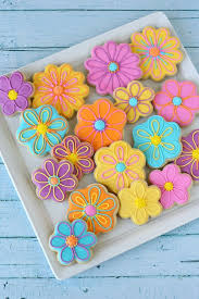 decorated flower sugar cookies. Exellent Decorated Pretty Decorated Flower Cookies With Recipes And Howto  By Glorious  Treats For Sugar Pinterest