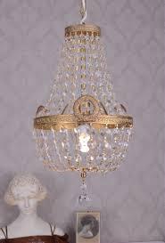Kristall Lüster Antik Deckenlampe Deckenlüster Kronleuchter Vintage
