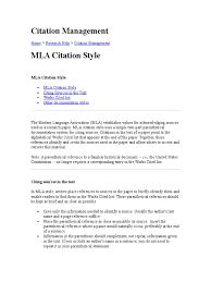 Citation Management Citation Publishing