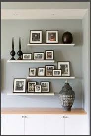 Floating Shelves For Photo Frames Frame 41 Deluxe Wall Gallery Frame 41 Great Photo Display Ideas 2