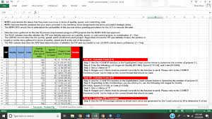 Excel Assignments 8 Mba501 Excel Template 7 2 Tw5xlsx Excel Nyles Mo