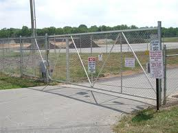 good chain link fence gate