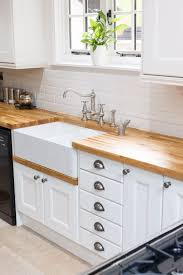 solid wood kitchen cabinets. This Beautiful Oak Kitchen From Solid Wood Cabinets Features Units Made Entirely European Oak, With Frontals Painted In Farrow \u0026 Ball\u0027s L
