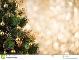 Royalty-Free Stock Photo. Download Gold Christmas Tree Background ...