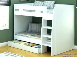 bunk bed with storage shelf beds white royal large drawer single 2 free pillow loft underneath bunk bed with storage