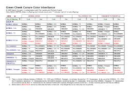 Ringneck Breeding Colour Chart 5 1 The Genetic Calculator