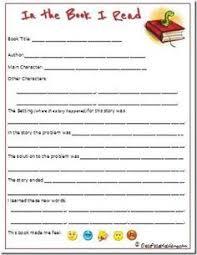 Free Book Report Templates Free 1st Grade Book Report Printables 1st Grade Books Book Reports