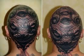 Galerie Tetování Tetování Na Hlavě Hlava 0001