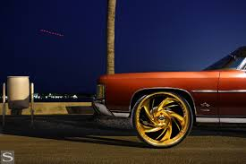 1971 Chevy Impala | Diamond Series Carpi | Savini Wheels - Savini ...