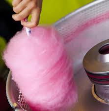 Light Up Cotton Candy Machine
