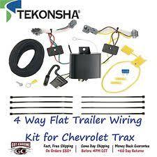 towing & hauling parts for chevrolet trax ebay 4 Way Trailer Wiring 118659 tekonsha t one 4 way flat trailer wiring connector kit for chevrolet trax (fits chevrolet trax) 4 way trailer wiring diagram