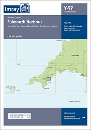 Chart Folio System Of The Ship Y47 Falmouth Harbour Imray Chart