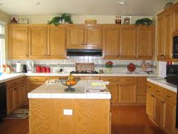 Light Wood Cabinets Kitchen Kitchen Color Schemes With Light Wood Cabinets Monsterlune