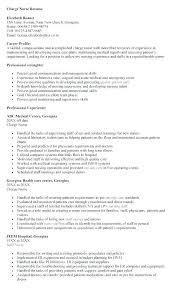 Emergency Room Nurse Resume Template Emergency Nurse Resume Mwb Online Co
