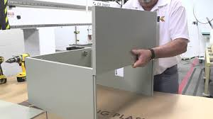 Knock Down Kitchen Cabinets King Plastic Building A Cabinet Knock Down Youtube