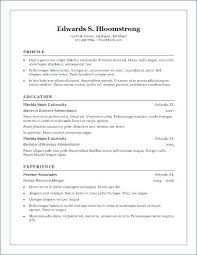 Resume Builder Templates Free New Microsoft Word Resume Builder Image Collections Resume Format