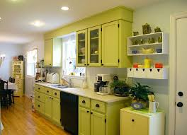 Simple Kitchen Interior Interior Design Manage Our Kitchen Using Light Green Kitchen