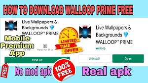 Background 💎 WALLOOP PRIME ...