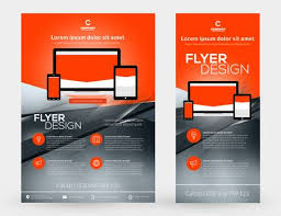 Flyer Samples Templates Magnificent Abstract Vector Business Brochures Cover Or Banner Design Templates