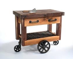wonderful kitchen island cart designs wheels furniture butcher block