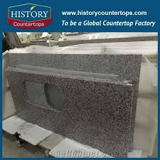 china g439 granite countertops with customized edges for home designs custom kitchen island bench tops polished surface for multi family and hospitality