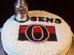 Cake Design Ottawa Ottawa Senators Hockey Cake Cakecentral Com