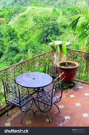 patterns furniture. Outdoor Garden Patio, Rustic Tile Patterns, Furniture And View At Asian Tropical Rain Forest Patterns K