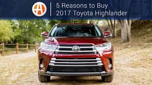 2017 Toyota Highlander   5 Reasons to Buy   Autotrader - YouTube