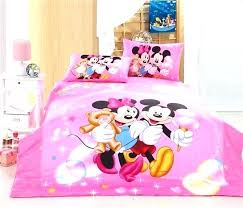 Minnie Mouse Bed Set Full Twin In A Bag Bedroom Size Best Home ...