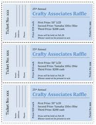 microsoft raffle ticket template 11 best raffle ticket template images on pinterest ticket template