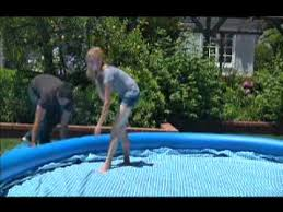 Intex Easy Set inflatable above ground pool setup YouTube