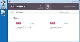 Epic Hyperspace How To Logon To Oneview Internally Via Citrix Receiver