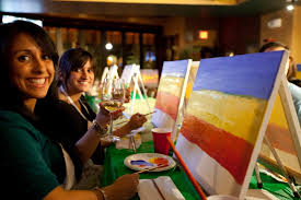 photo of paint nite san francisco ca united states painting and drinking