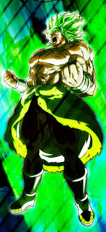 1242x2688 Unstoppable Broly 4K Iphone ...