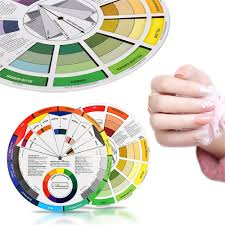 Atomus Ink Chart Permanent Makeup Coloring Wheel For Amateur Select Color Mix Professional Tattoo Pigments Wheel Swatches