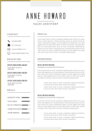 Free Modern Resume Templates For Microsoft Word Dlword