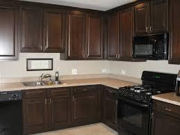 Staining Kitchen Cabinets Darker Dark Stained Kitchen Cabinets 4 Kitchens With Dark Brown Wood