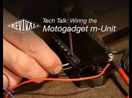 wiring the motogadget m unit v 2 revival cycles tech talk wiring the motogadget m unit v 2 revival cycles tech talk