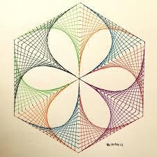 Geometric Patterns Math String Art Geometry Art Sacred