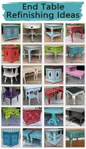 End Table Paint Ideas End Table Refinishing Ideas Facelift Furniture