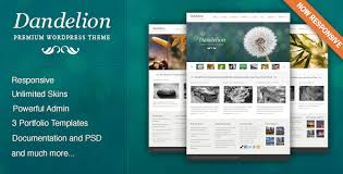 <b>Dandelion</b> - Powerful Elegant WordPress Theme by pexeto ...